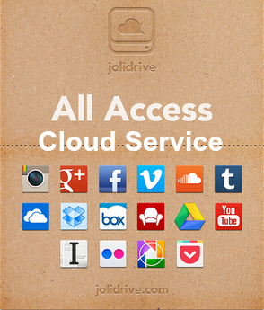 All in One Access Multiple Cloud Storage Services in One Dashboard