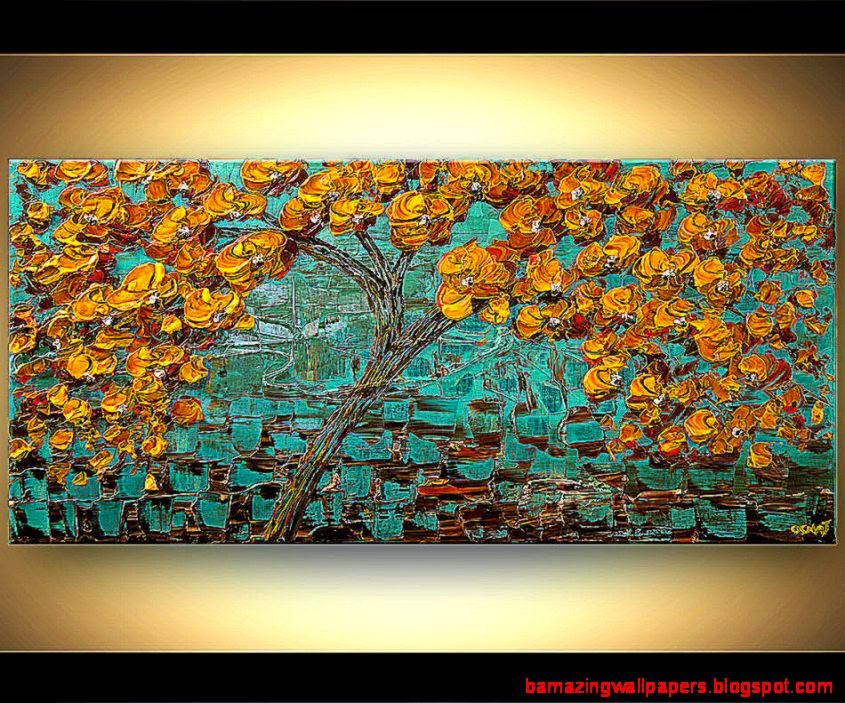 Landscape Painting   Tree of Life 6173
