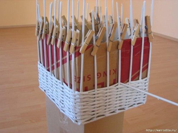 Как сделать своими руками плетеные корзины