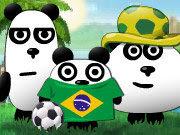 3 Pandas en Brasil