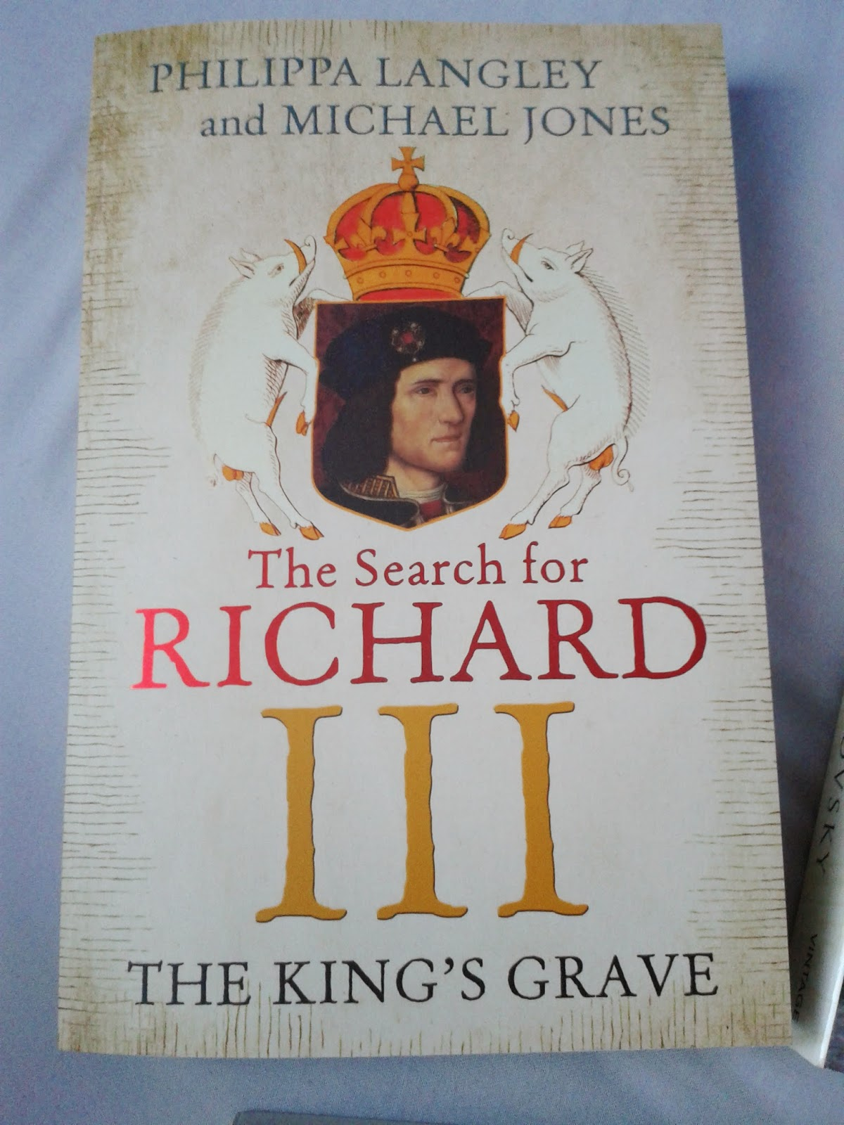 The Search for Richard III front cover