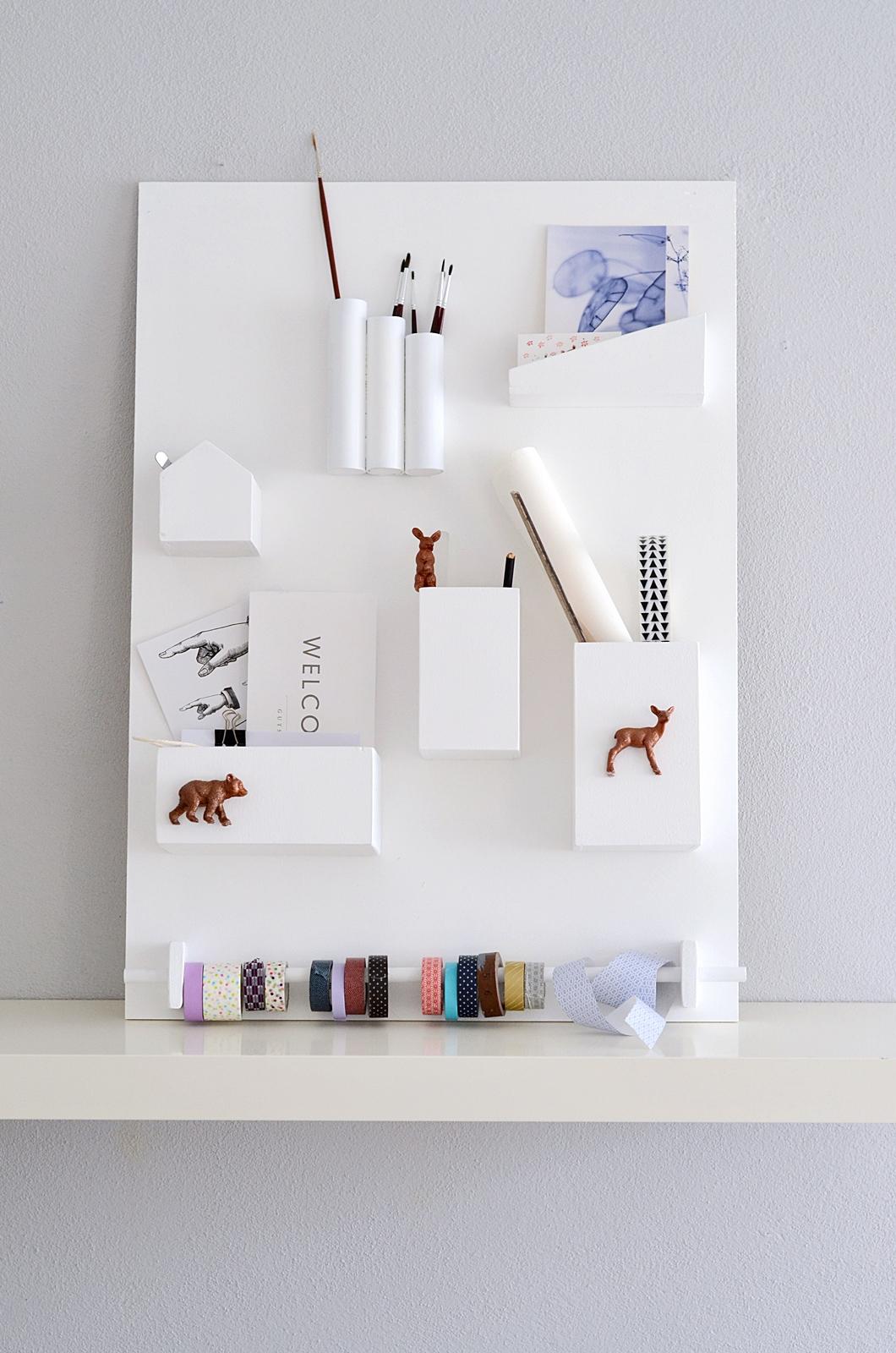 nachmachtipp wand utensilo sinnenrausch der kreative diy blog f r wohnsinnige und. Black Bedroom Furniture Sets. Home Design Ideas