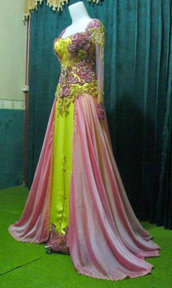 Kebaya modern shades of pink international kebaya batik modern