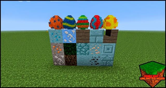 LotsOMobs Mod blocks