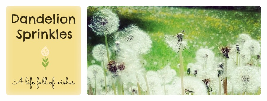Dandelion sprinkles