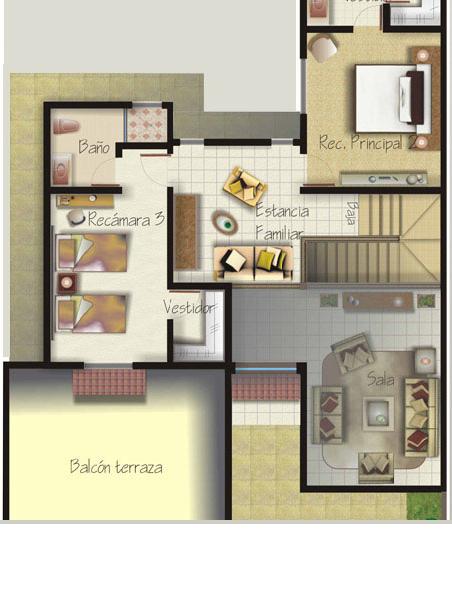 en Venta y Departamentos: Casa Muestra modelo Lucero en Valle del Lago