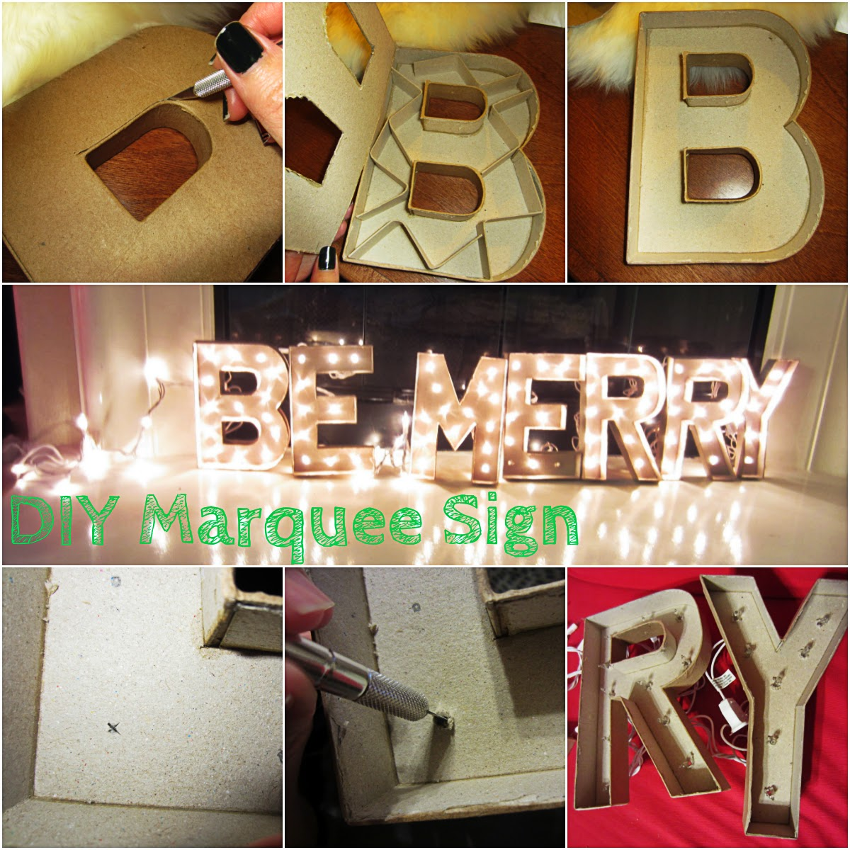 Easy DIY Marquee Sign