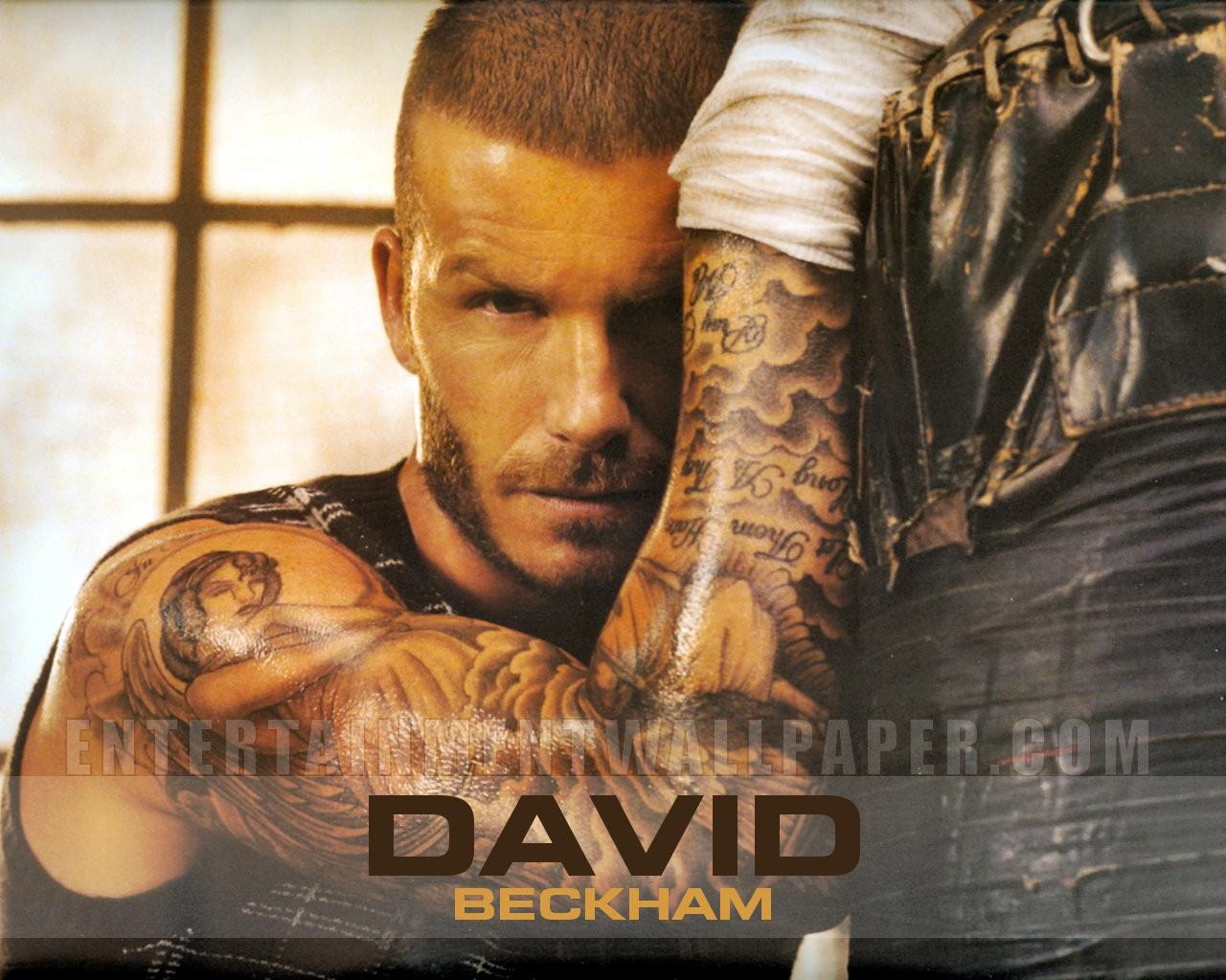 David beckham tattoo wallpaper