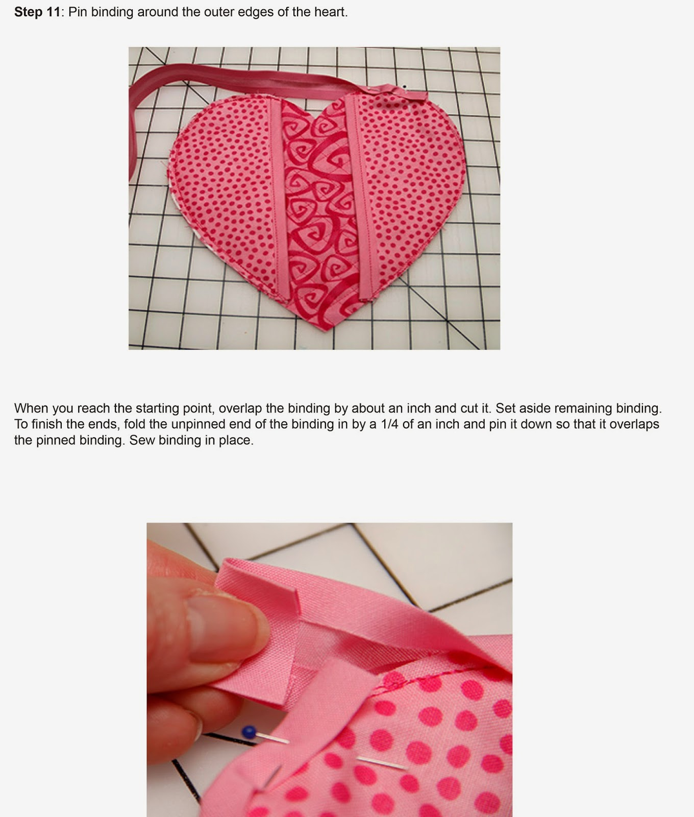 Heart Shapped Pot Holder Tutorial