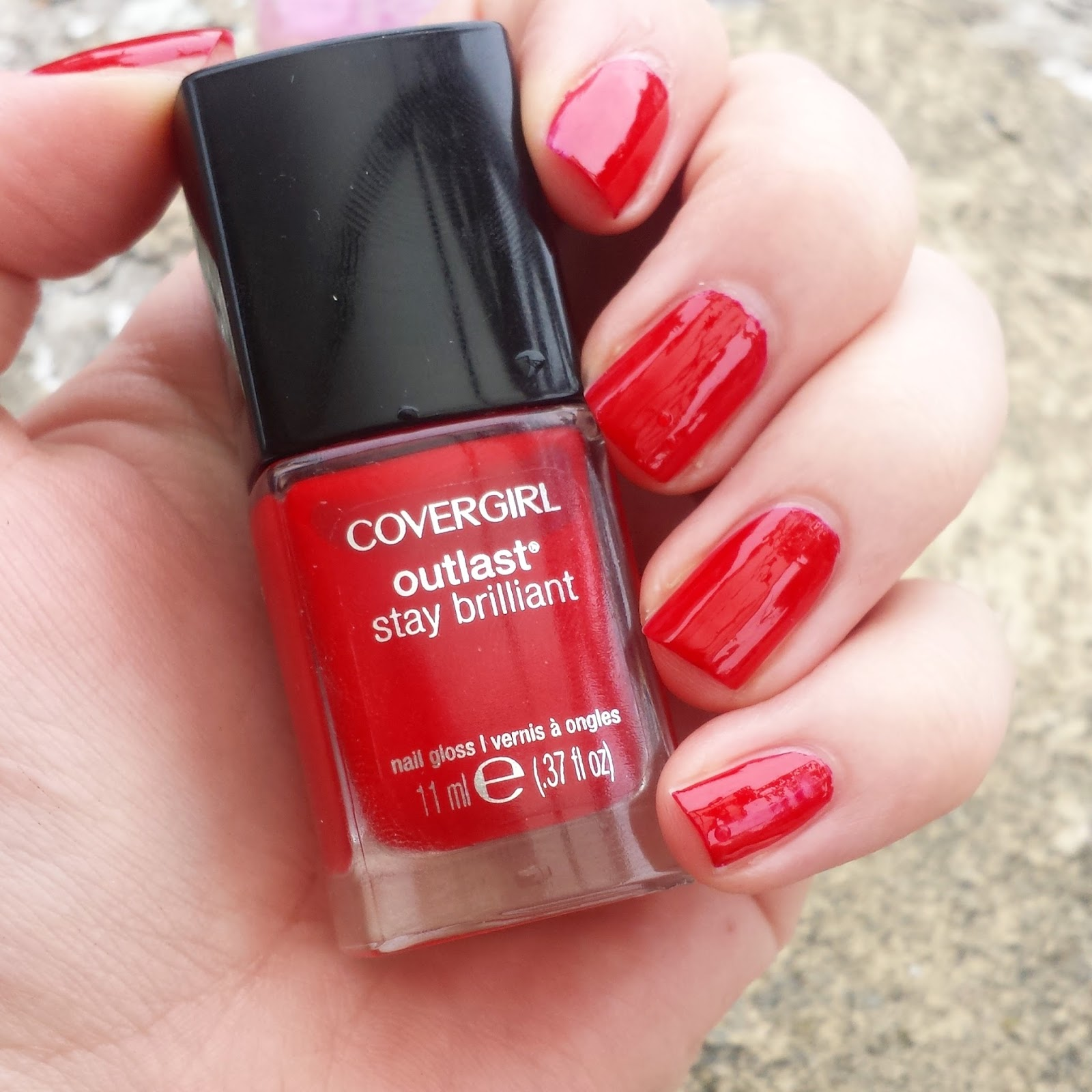 The Nail Art And Beauty Diaries: Beauty Diary By Monica: Cover Girl 'Red