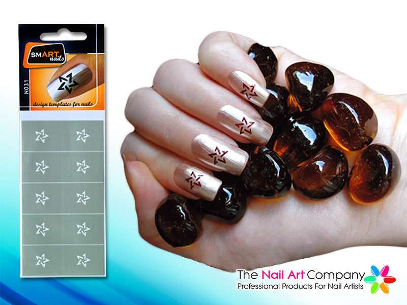 The Nail Art Company Smart Nails Instant Nail Art Stencils Just