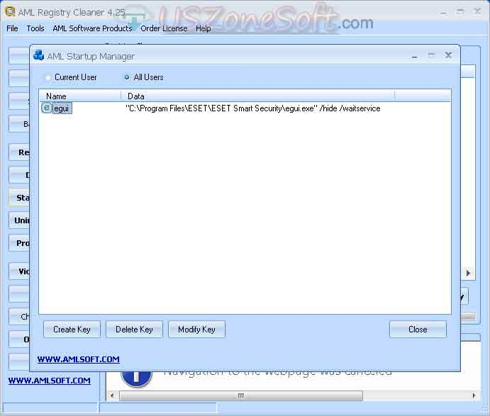 AML Free Registry Cleaner Full Version Free Download For Windows ...