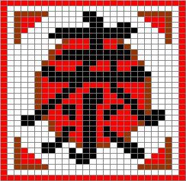 Схема иероглифа Рассвет Япония