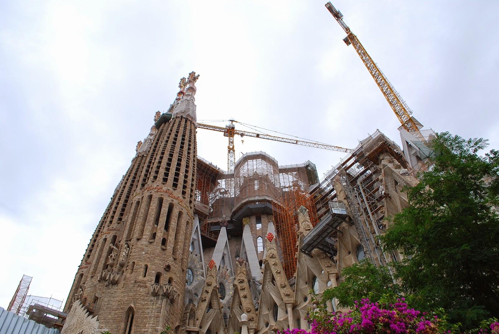 Саграда, Барселона, Испания. La Sagrada Família, Barcelona, Catalonia, Spain