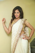 gowthami chowdary glamorous in saree-thumbnail-6