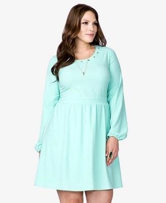 Vestidos de noche para mujeres con mucho vientre
