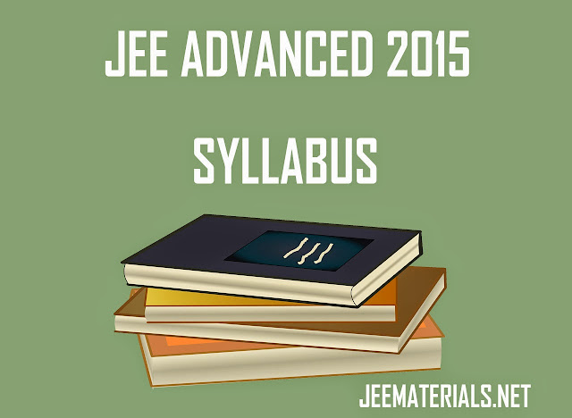 jee advanced 2015 syllabus