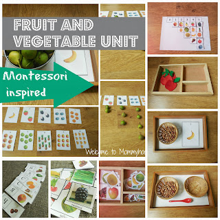 Montessori Inspired Fruit and Vegetable Printables by Welcome to Mommyhood #frreeprintables, #montessoriactivities, #toddleractivities