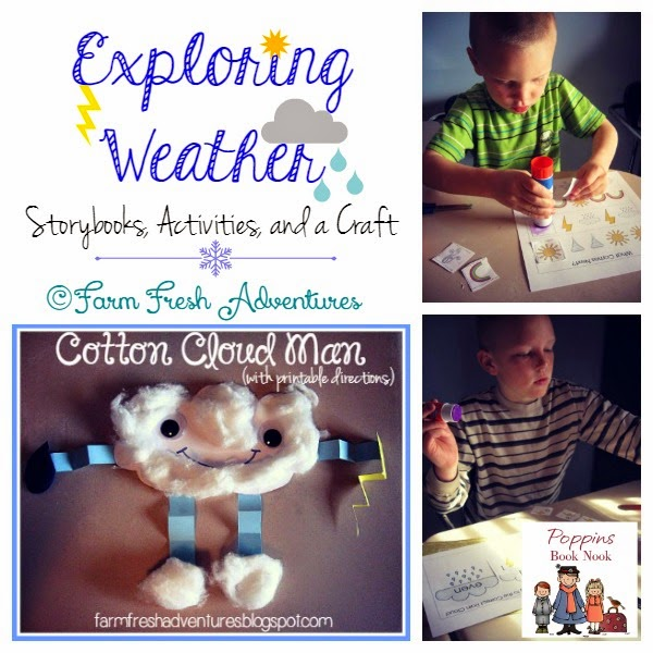 exploring weather with storybooks