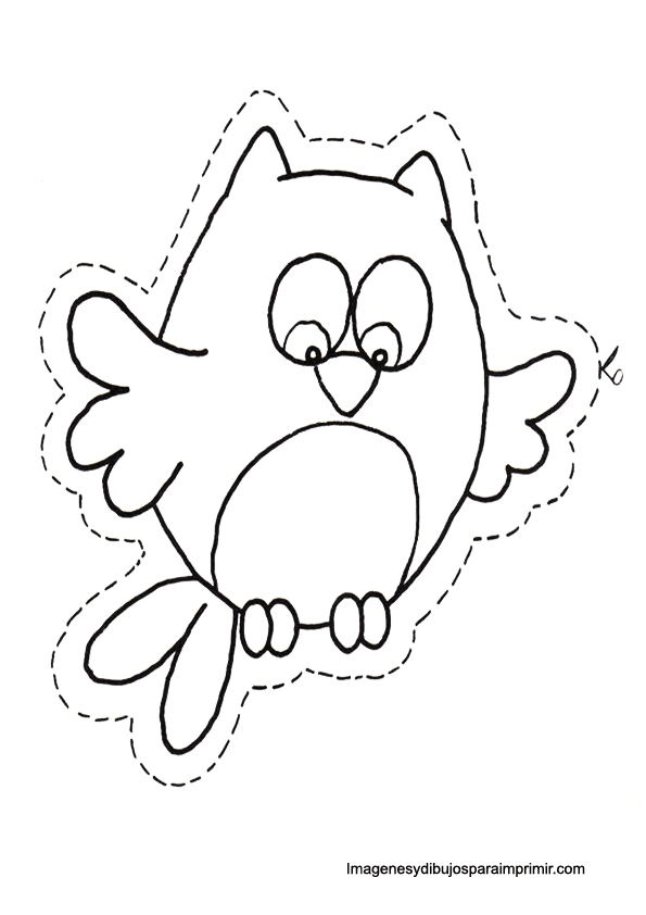owl to print and cut