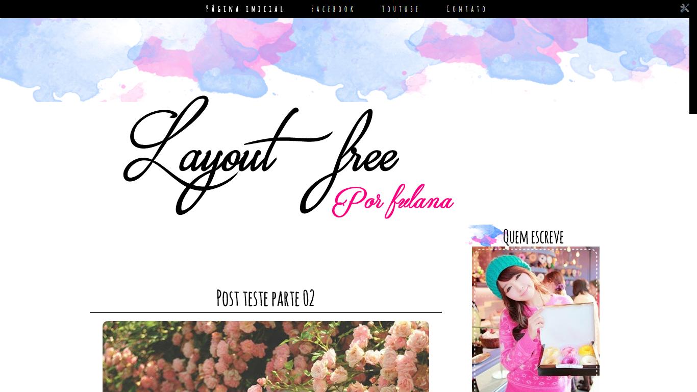 Excepcional Claramente Insana: Os melhores layouts free para blogger KW25