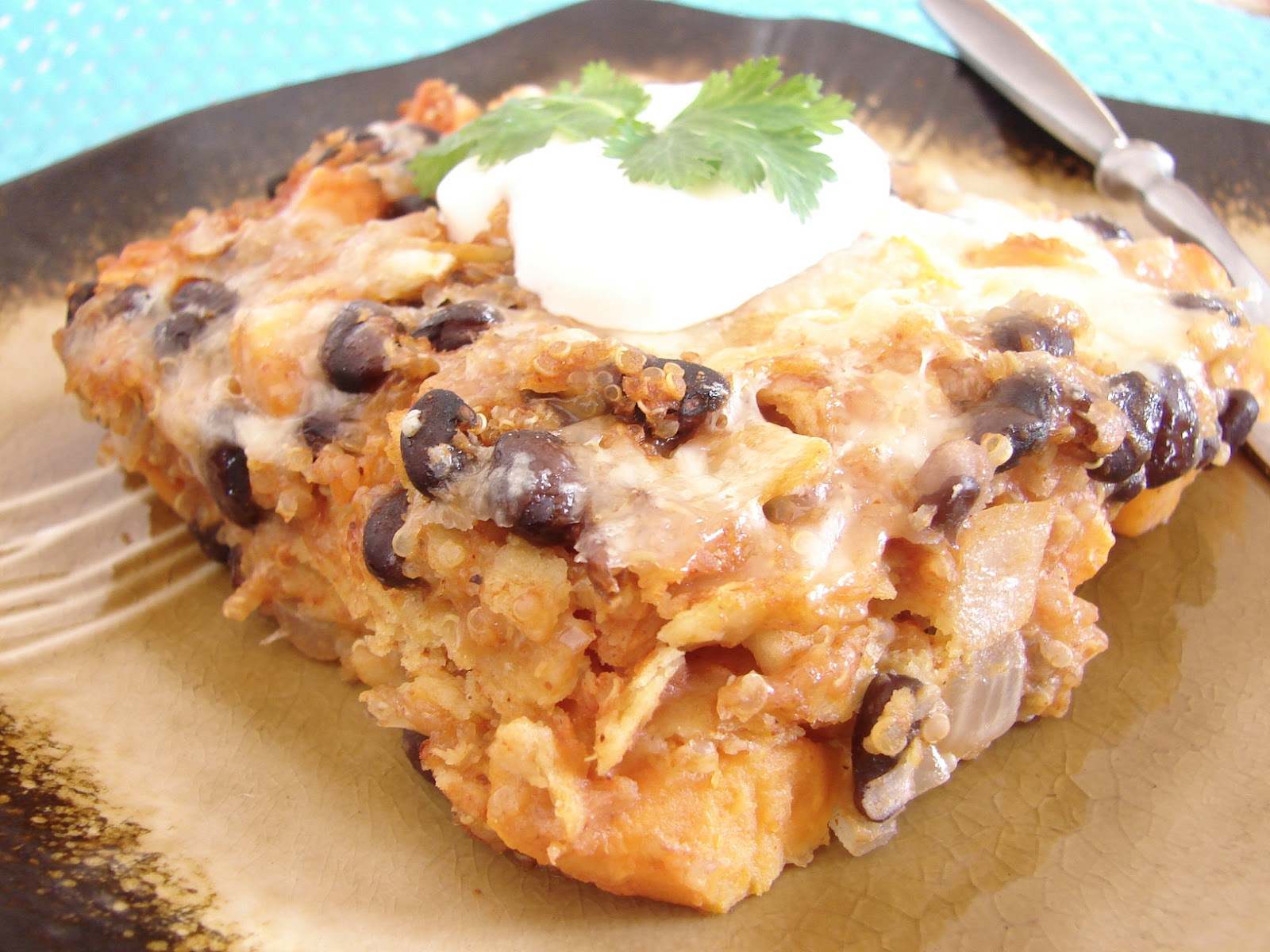 The Royal Cook: Sweet Potato, Quinoa and Black Bean Enchilada ...