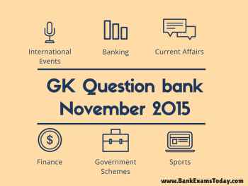 Current Affairs Question Bank