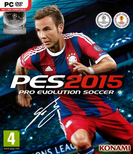 Pro Evolution Soccer 2015 (2014) Worldfree4u - Free Download PC Game