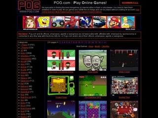 Pog Memainkan Game Online