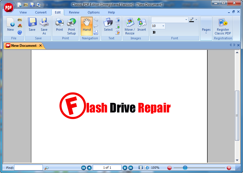 how to download pdf from flash viewer