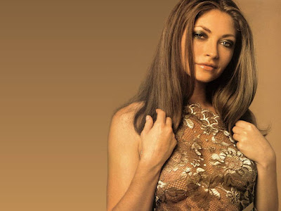 TV Actress Rebecca Gayheart Wallpaper