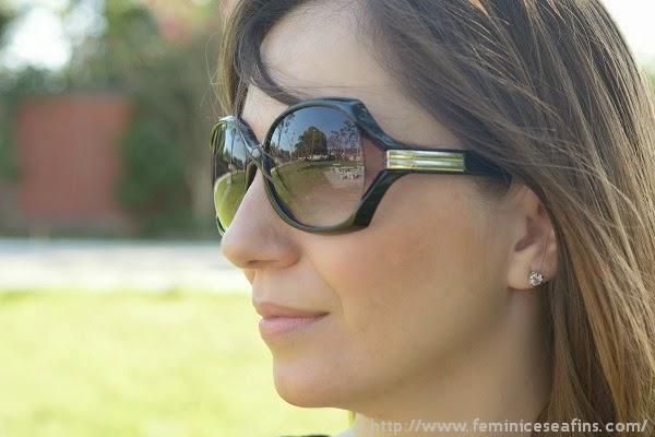 óculos escuro retro