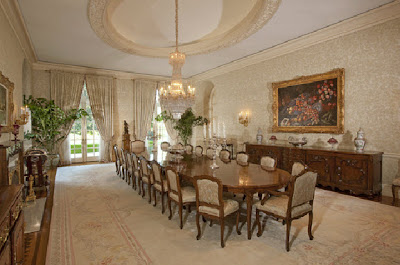 Spelling Mansion Dining Room