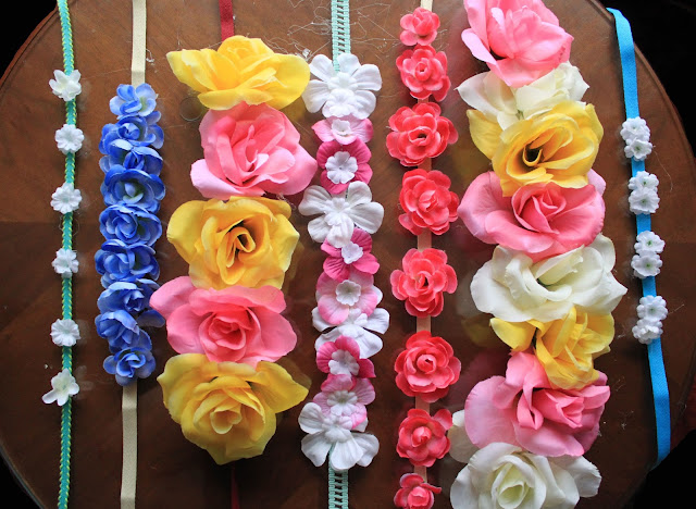Blogger Mash Elle makes a flower crown for less