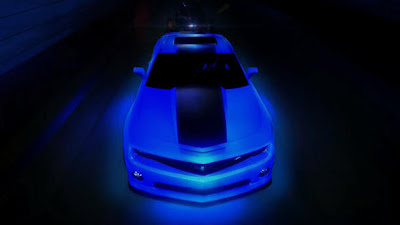 Glow-in-the-dark Camaro