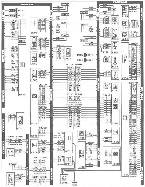 peugeot 106 wiring diagram wirdig peugeot 406 p8c as well wiring diagrams peugeot on wiring diagram for