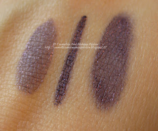 KIKO - Intense Colour Long Lasting Eyeliner n.13 Viola perlato - swatches