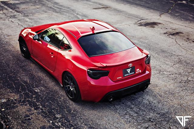 Toyota GT86, tylne reflektory, auta po tuningu, nowe sportowe samochody