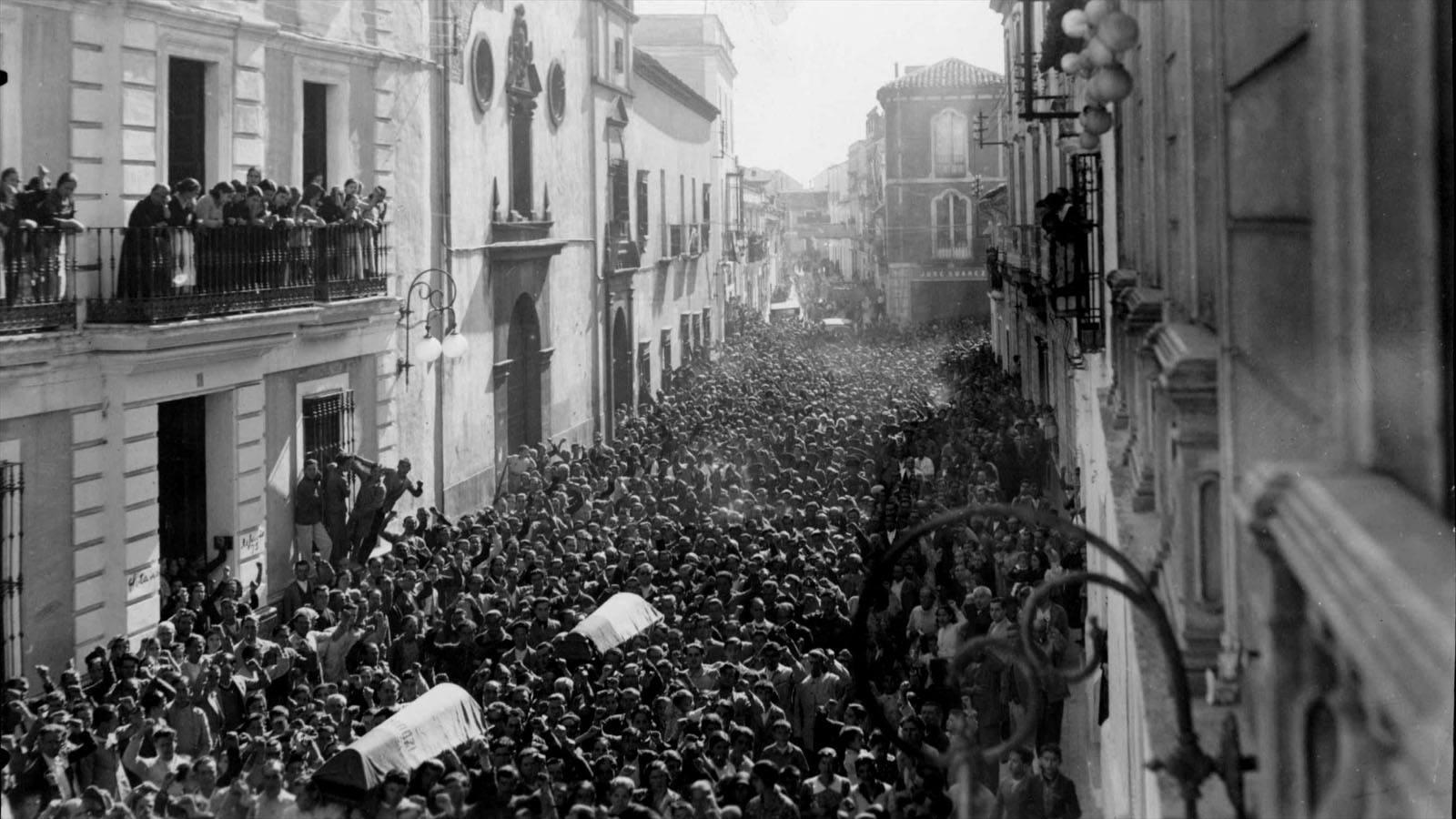 guerra civil andalucia: