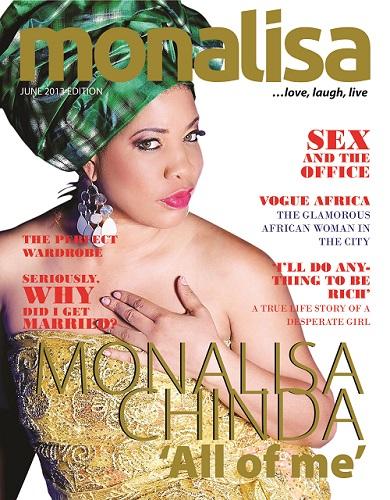 monalisa chinda magazine