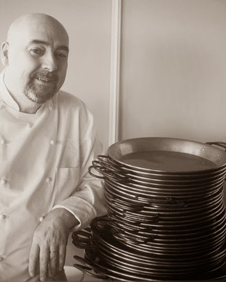 chef Alberto Herraiz restaurant fogon paris