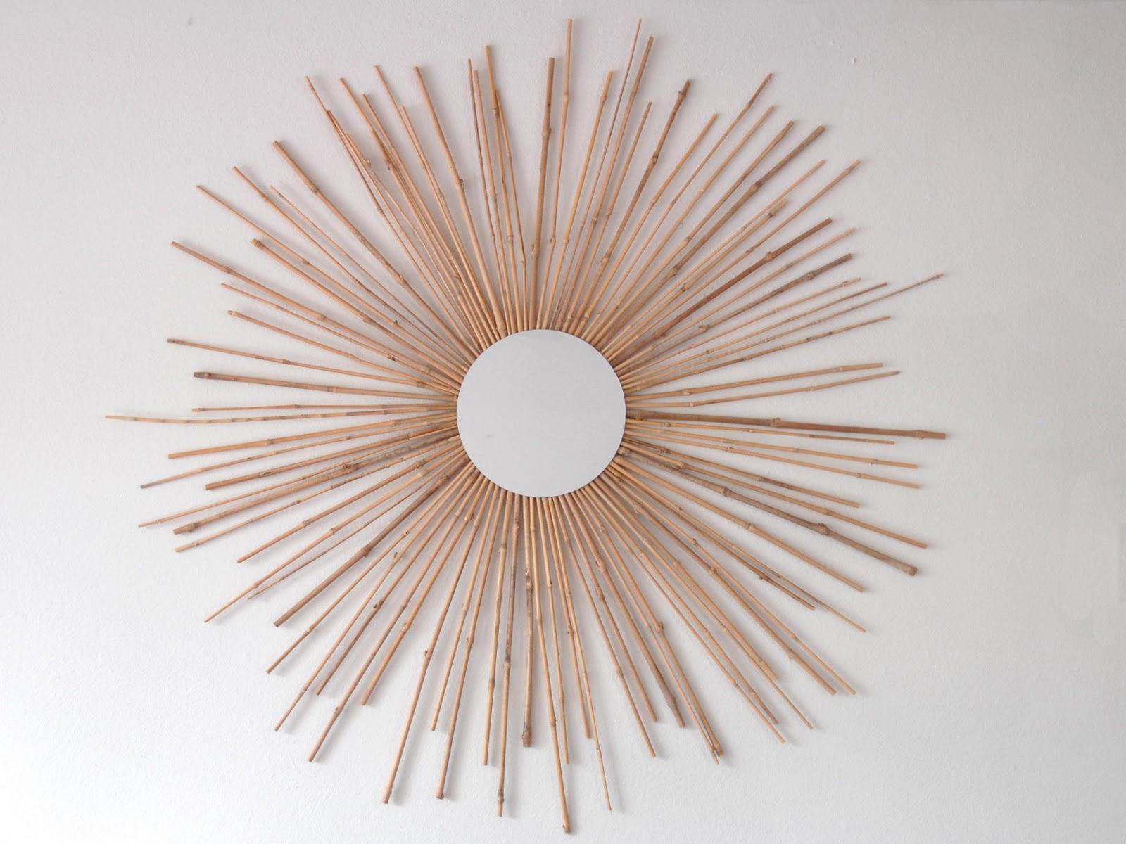 Sewing tutorials crafts diy handmade shannon sews for Sunburst mirror