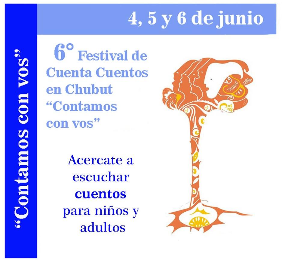 6° Festival de Cuentacuentos CONTAMOS CON VOS