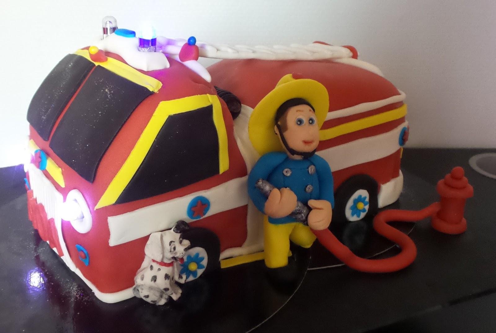 Sam le pompier lucas gateau anniversaire sam le pompier apsip