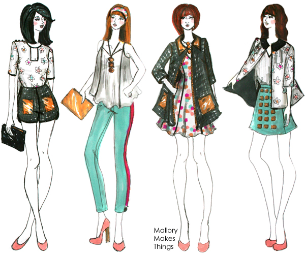 how to draw the bode of fashion