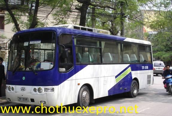 Cho thuê xe 35 chỗ tại Hà Nội giá rẻ