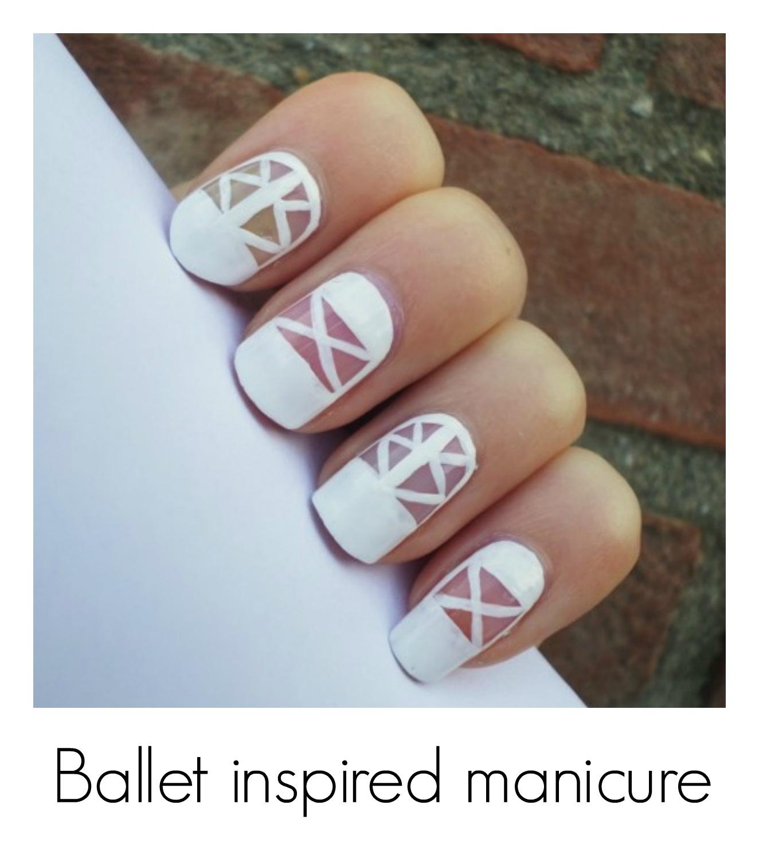 Creativenails4fun Ballet Inspired Manicure