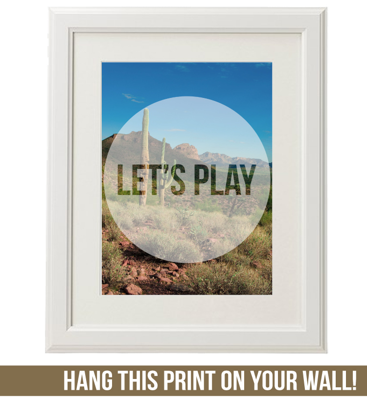 Let's Play Wall Art by Isn't that Sew