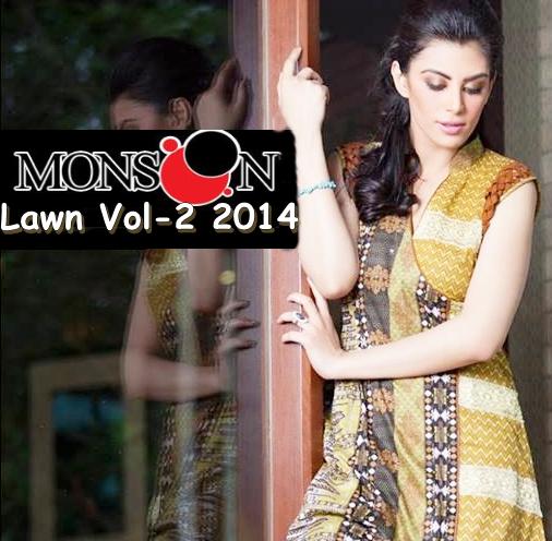 Monsoon Lawn 2014 Vol-2