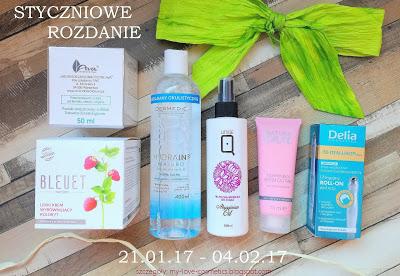 Rozdanie u My love cosmetics do 4 lutego
